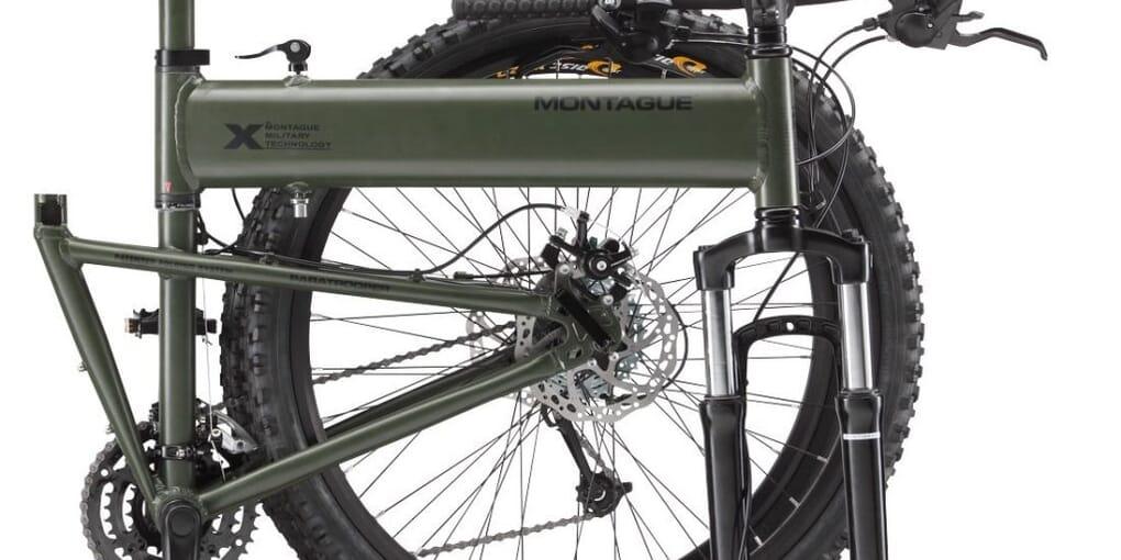 Montague Paratrooper Mountain Folding Bike