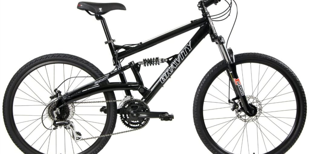 Gravity FSX 1.0 Dual full suspension mountain bike Review