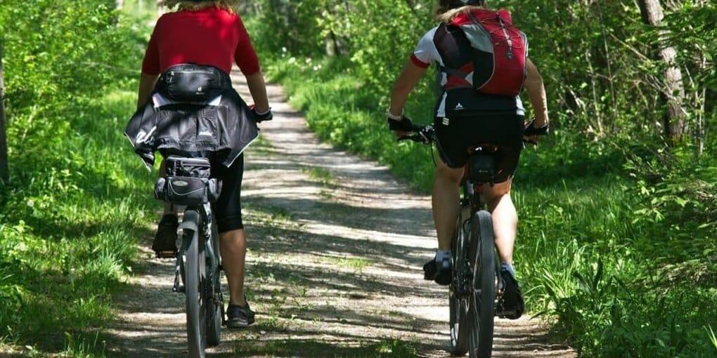 Mountain Bike Towards The Bike Having A Difference