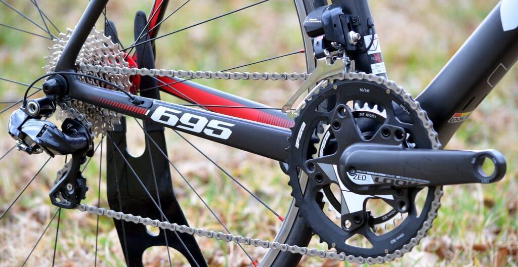 Mountain Bike Crankset and Gear